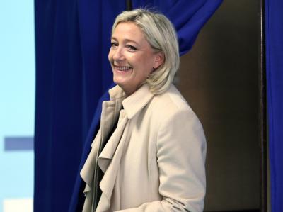 Front-National-Chefin Marine Le Pen schätzt, dass ihre Partei in einigen Regionen auf knapp 40 Prozent der Stimmen kam.