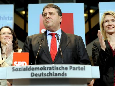 SPD- Reaktionen in Berlin