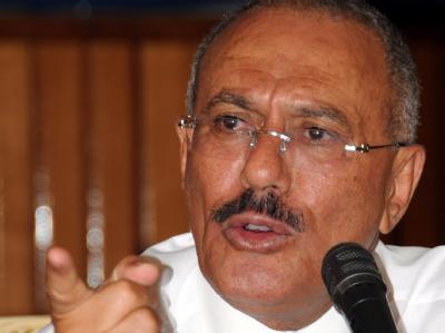Jemens Präsident Salih