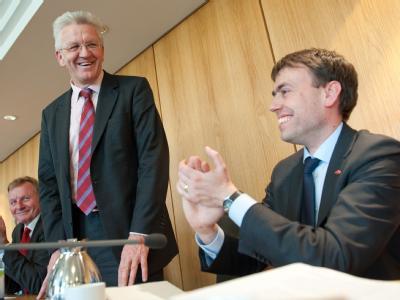 Kretschmann besucht SPD-Fraktion