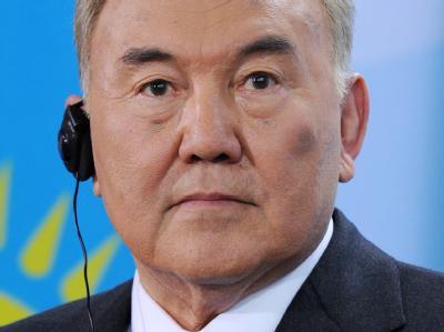 Der kasachische Präsident Nursultan Nasarbajew. (Archivbild)