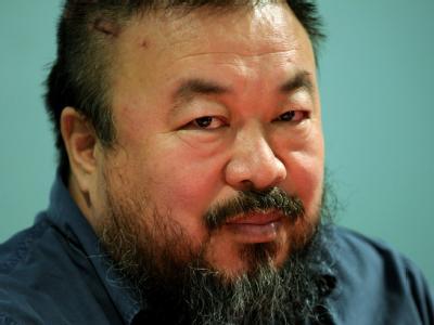 Ai Weiwei im Haus der Kunst in München (Archivfoto vom 09.10.2009).