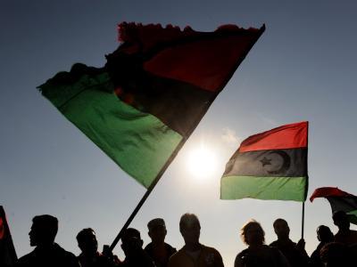 Anti-Gaddafi-Proteste