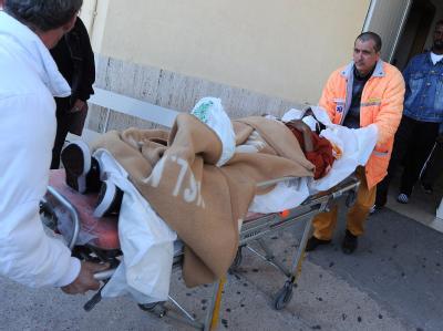 53 Menschen konnten nach dem Unglück vor Lampedusa gerettet werden.