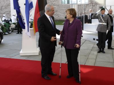 Merkel trifft Netanjahu
