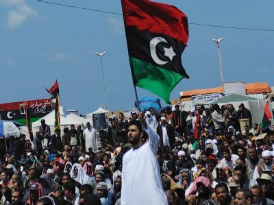 Die Gaddafi-Gegner wollen vollkommenen Rückzug des Staatschefs.