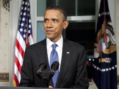 US-Präsident Obama nach der Haushaltseinigung.