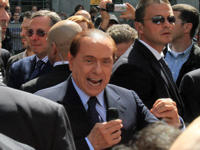 Italiens Ministerpräsident Silvio Berlusconi.