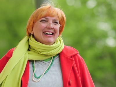 Die Grünen-Bundesvorsitzende Claudia Roth. (Archivbild)