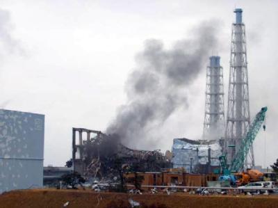 Japan beurteilt die Gefahr des Atomstörfalls im Kraftwerk Fukushima mit der höchsten Stufe. (Archivbild)