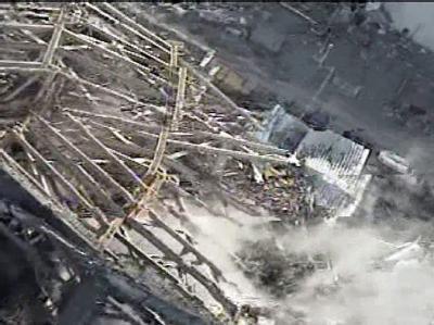 Der zerstörte Reaktorblock 3 des Kraftwerks Fukushima.