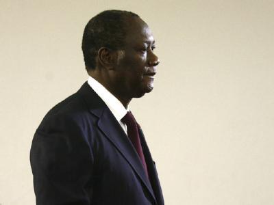 Der Präsident der Elfenbeinküste, Alassane Ouattara.