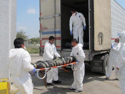 Weitere Leichen in Massengrab entdeckt