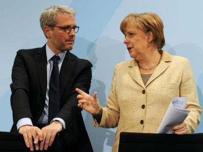 Röttgen und Merkel