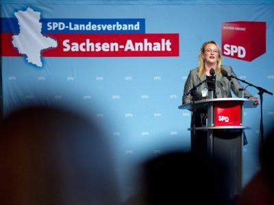 SPD-Landeschefin Katrin Budde: «Dieser Vertrag ist ein klarer Punkt für uns. Er ist ein klarer Erfolg für die SPD.»