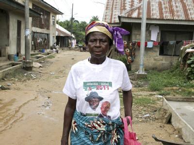 Unruhen nach Pr�sidenten-Wahl in Nigeria