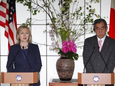 Clinton in Japan