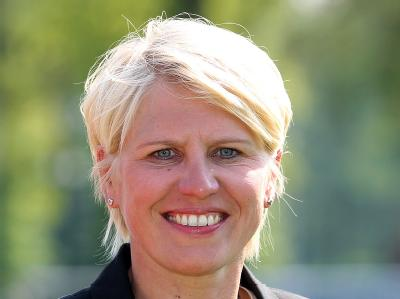 Die Managerin der Nationalmannschaft, Doris Fitschen