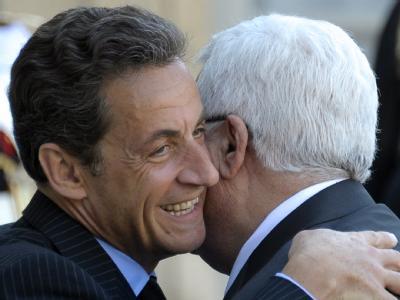 Sarkozy und Abbas