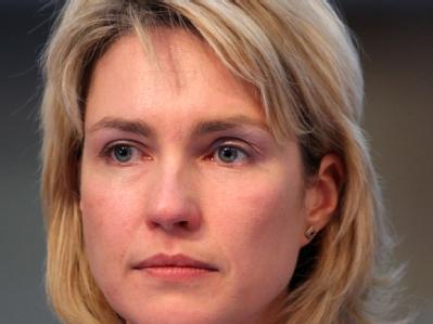 Die stellvertretende SPD-Vorsitzende und Sozialministerin in Mecklenburg-Vorpommern: Manuela Schwesig (SPD).