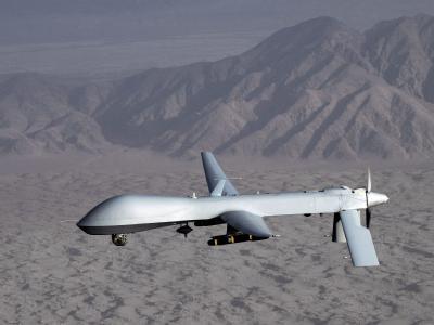 Die USA wollen mit dem Einsatz von Drohnen zum Schutz der libyschen Zivilbevölkerung beitragen. (Foto: US Air Force, Lt. Col. L. Pratt)