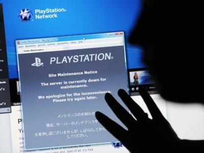 Die Internetseite vom Sony PlayStation Network mit dem Hinweis, dass der Server momentan nicht erreichbar ist: Der Fall könnte einer der größten Datendiebstähle der Geschichte werden.