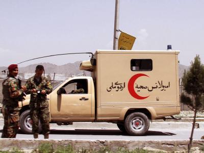 Der Angreifer schoss auf dem militärischen Teil des Flughafens Kabul auf Nato-Ausbilder.