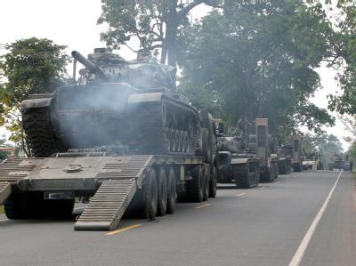 Thailändische Panzer