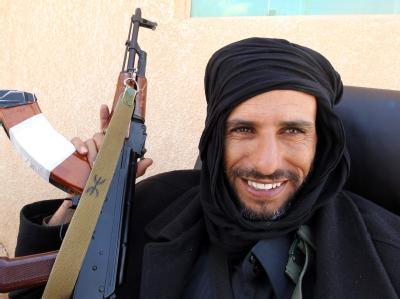 Libysche Rebell