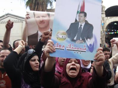 Demonstrationen in Syrien