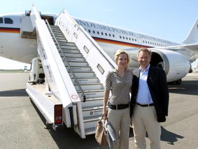 Bundespr�sident Wulff in Mexiko
