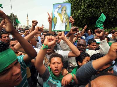 Begr�bnis von Saif al-Arab Gaddafi