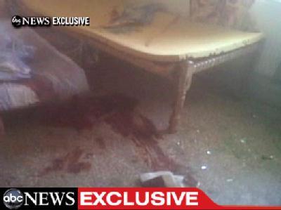 Videoaufnahmen des US-Fernsehsender ABC aus dem Haus des getöteten Osama bin Laden im pakistanischen Abbottabad.