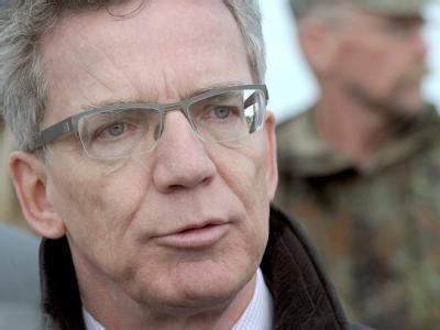 Bundesverteidigungsminister Thomas de Maizière: «Sind nicht in Afghanistan, um gegen Osama bin Laden zu Felde zu ziehen.»