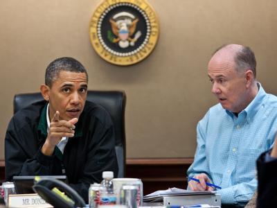 Barack Obama und Sicherheitsberater