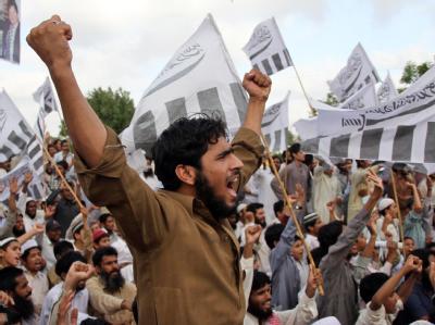 Proteste gegen Tötung von Bin Laden in Karachi
