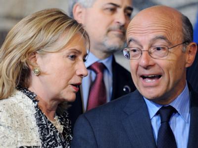 Clinton und Juppé