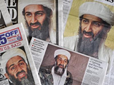 Der Tod des Terroristenanführers Bin Laden beherrscht weiter die Schlagzeilen.