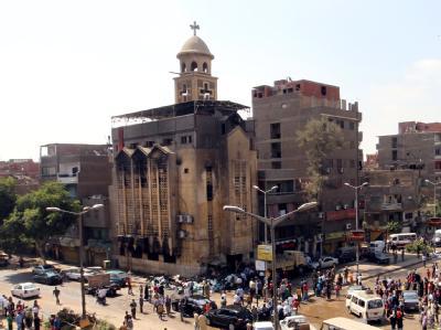 Tote bei Gewalt zwischen Muslimen und Kopten in Kairo
