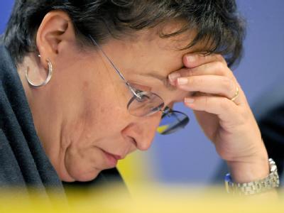 Die baden-württembergische FDP-Vorsitzende Birgit Homburger hat beim Parteitag einen Denkzettel erhalten.