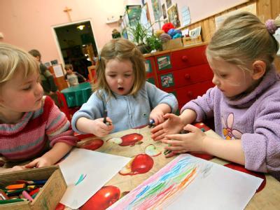 Fast 40 Prozent der Eltern von Kindern unter drei Jahren wünschen sich ein Betreuungsangebot.