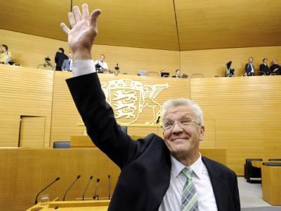 Winfried Kretschmann ist neuer Regierungschef in Stuttgart.