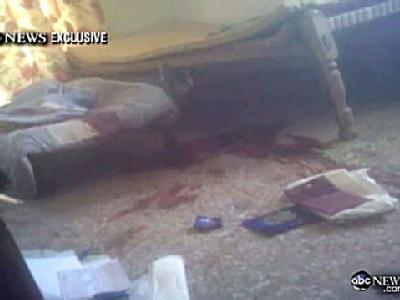 Bin-Laden-Versteck nach dem Angriff der Amerikaner. Foto:ABCNews