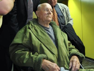 Der frühere KZ-Wachmann John Demjanjuk.