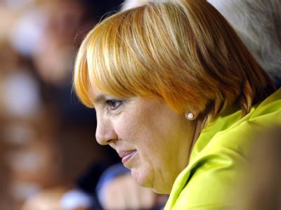 Live dabei: Grünen-Chefin Claudia Roth im Stuttgarter Landtag