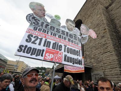 Stuttgart 21-Protest