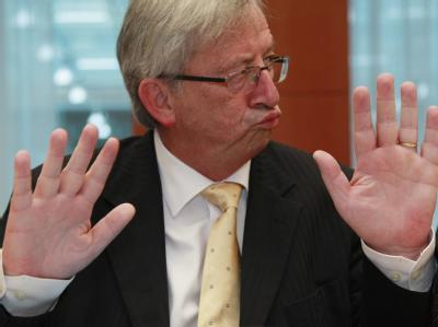 Eurogruppenchef Jean-Claude Juncker. Foto: Olivier Hoslet / Archiv