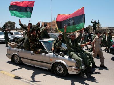 Aufst�ndische in Libyen