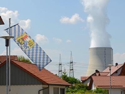 Kernkraftwerke Isar 1 und 2 in Bayern