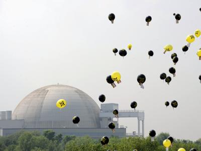 Atomkraftwerk Unterweser bei Nordenham